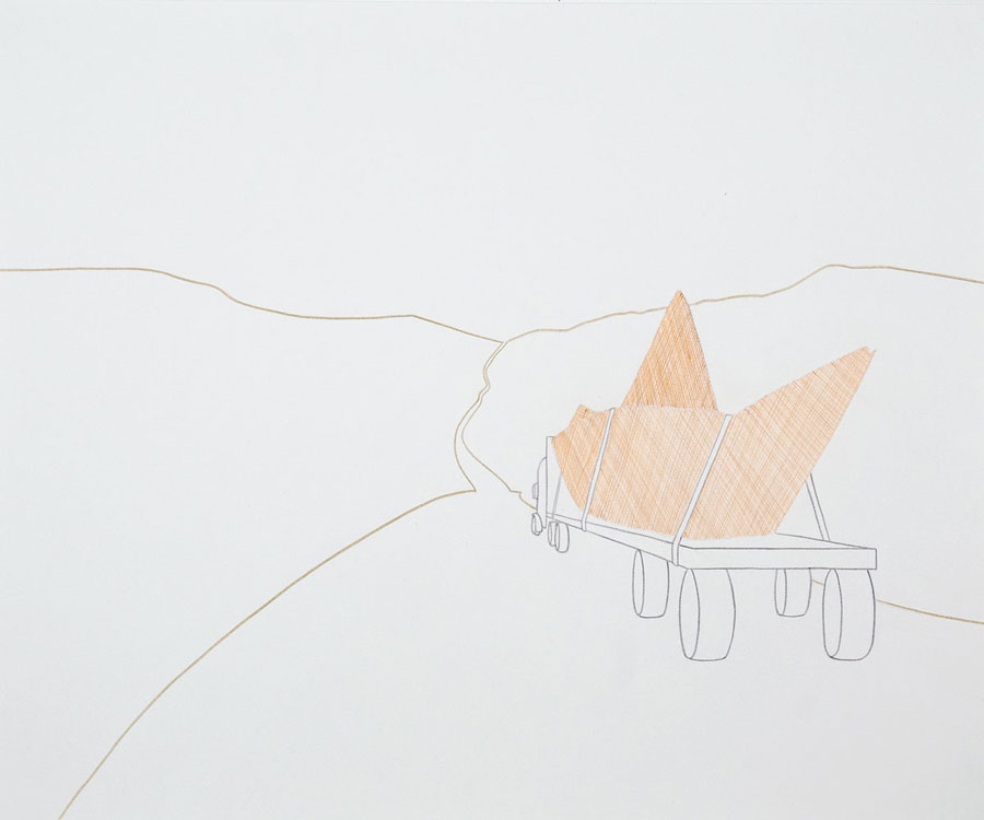 Einat Imber - Drawings for Sculptures